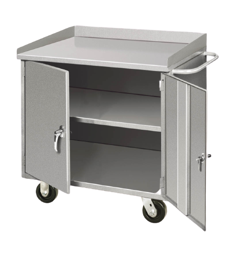Mobile Cabinet Benches