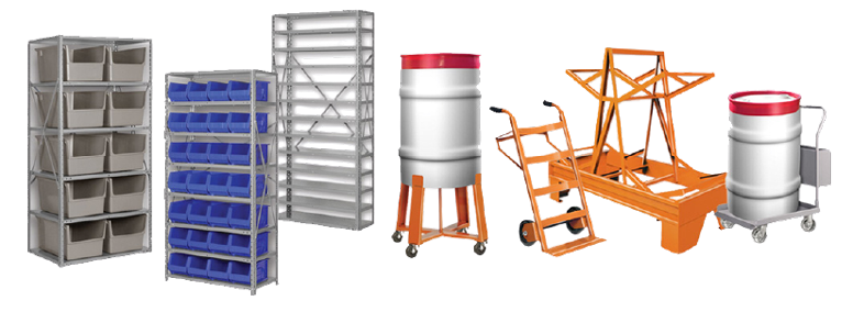 Shelving, Racks, & Drum Handling