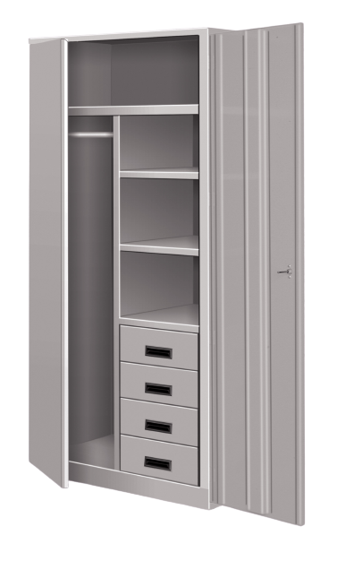 Industrial Wardrobe Storage Lockers - Metal Wardrobe Lockers