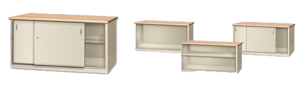Enclosed Cabinet Workbenches